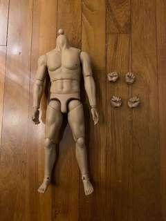 Male body fro kitbash