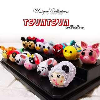 [CUSTOMIZED VALENTINE'S DAY GIFT] Handmade Paper Quilling Miniature Tsum Tsum