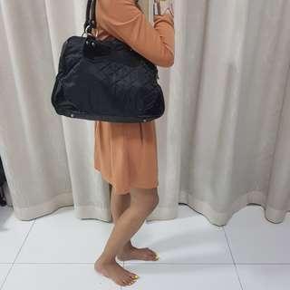 Black Bulky Handbag. Perfect Condition.