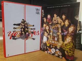 TWICE - YES OR YES ALBUM READY STOCK #CNY888