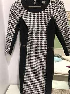 H&M Houndstooth dress