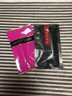 Perfume Sample Set of 2 Prada