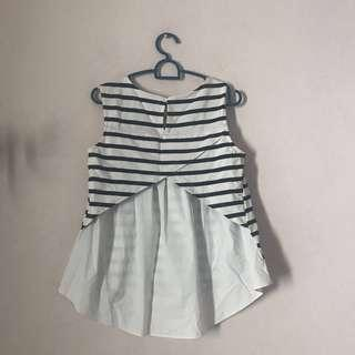JRunway mixed striped top