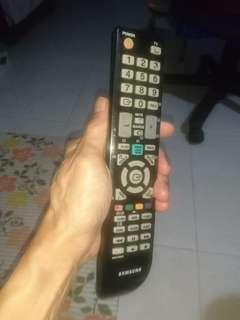 Samsung tv  remote controller used