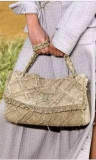 Chanel Tweed 2way Chain Bag
