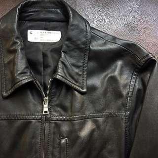 Chocoolate - M 黑皮褸 Leather Jacket Izzue Army LVC Wtaps Biker