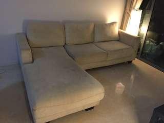Sofa L shape / chaise lounge