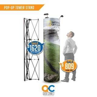 Pop-Up Tower Stand