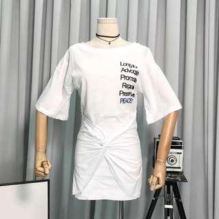 "Korean ""Silence"" Casual Dress"
