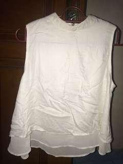 Colorbox sleeveless white top