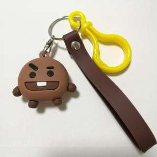 BT21 Shooky Keychain