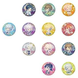 Idolish7 visual arts expo badges