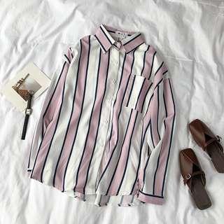 Korean Stripe Shirt #CNY888