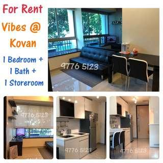 👍For Rent!! Vibes @ Kovan - 8 Minute walk to Nex Mall / Serangoon MRT