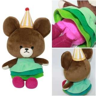 [PO] Jackie Soft Bean Doll Triangle Hat