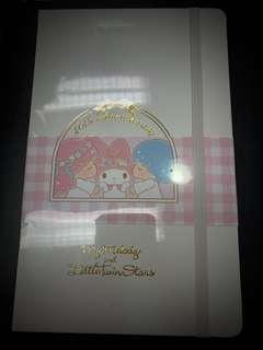 原價$248,全新 moleskine x Sanrio x blitz 筆記本薄 ruled notebook
