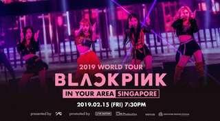 [WTB/LF] Blackpink concert tickets SG