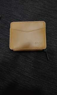 Ideka 2 leather wallet.
