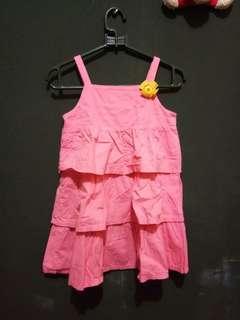 dress anak 3-4thn