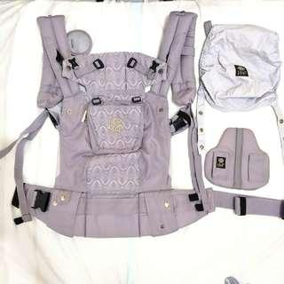 LilleBaby Complete 6in1 Carrier - Embossed