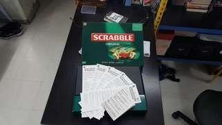 Scrabble英文拼字遊戲
