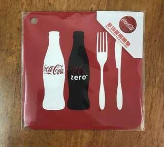Coca Coca ~ 可口可樂多功能隔熱墊~全新