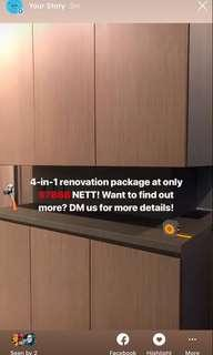 7888 all in carpentry reno package