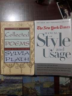 Collected Poems and NY Times Manual