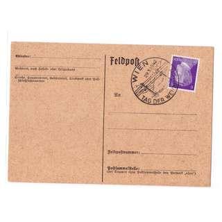 1942 German Feldpost Card