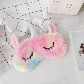 Sleeping Eye Mask Rainbow Unicorn