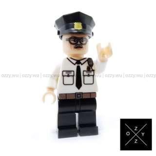 Lego Compatible Marvel Superheroes Minifigures : Stan Lee (Captain America - Winter Soldier)