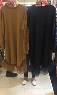 Brown Oversized Dress
