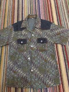 Batik top for boy