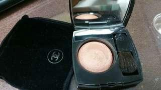 Chanel powder blusher 59 imprevu with brush