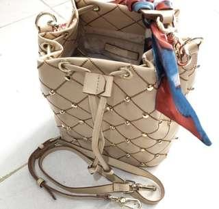 CHARLES AND KEITH QUILTED DRAWSTING ORIGINAL