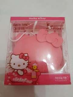 Hello kitty bath sponge