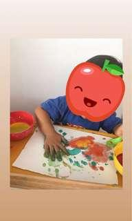 Sensory Art Class For toddlers