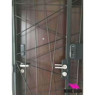 Loghome LH300 Digital Locks bundle deal for door and gate (HDB/BTO)