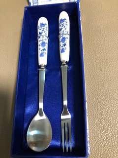 中國風 青花瓷 餐具
