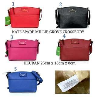 Kate Spade Millie Grove Crossbody Bag