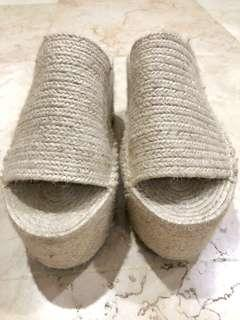 Preloved ZARA Woven Sandals