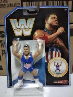 Mattel Retro WWE Series 7 Kurt Angle