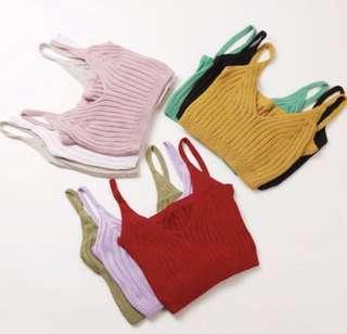 Knitted Bralet