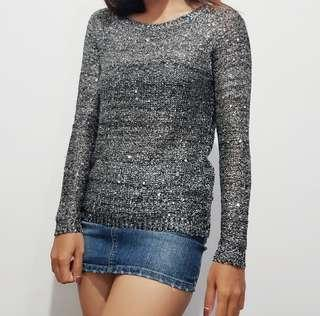 Glamour spark knit top
