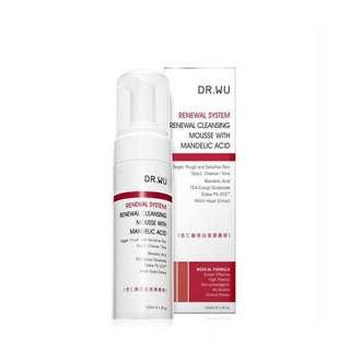 Dr Wu 杏仁酸 Renewal System Renewal Cleansing Mousse With Mandelic Acid
