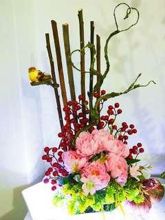 Be My Valentine's - Artificial flower arrangement