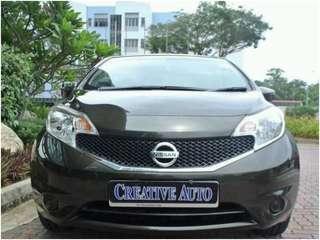 Nissan NOTE 1.2 CVT Auto
