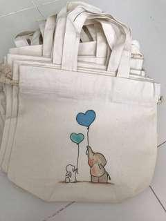 Brand new - Drawstring tote (Assorted design)