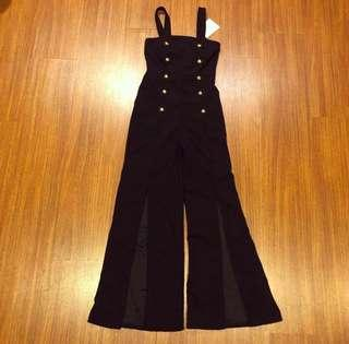 Black jumpsuit (mspawshop)