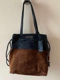 authentic Miumiu tote bag, 95% new